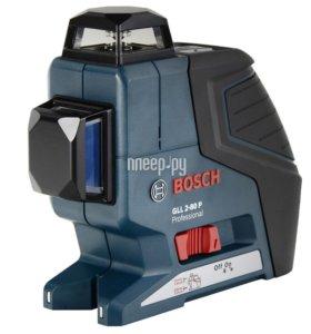 лазерный уровень bosch gll 2-80 p + штатив