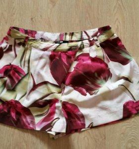 Шорты юбка яркие 44-46
