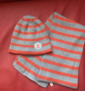 Комплект шапка + шарф Sela размер 46-48
