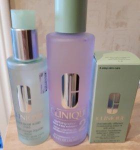 CLINIQUE 3step skin care для 2типа кожи