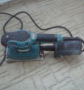 Вибрационная шлиф машина