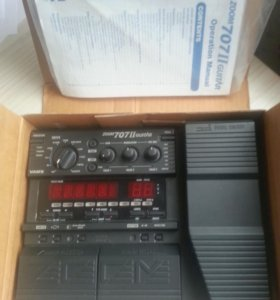 🎼Zoom 707 II гитарный процессор. Доставка