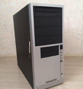 Корпус компьютерный + DWD привод