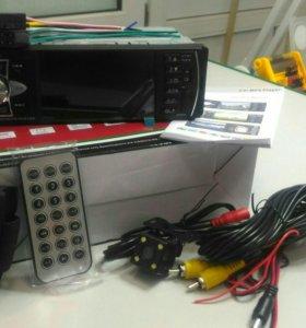 Новая Магнитола с экраном и камерой