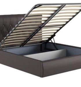 Кровать Тиффани шоколад с подъемным механизмом