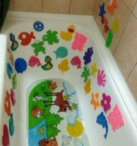 Мини-коврики в ванну