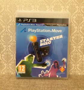 PS3. PlayStation Move Started Disc