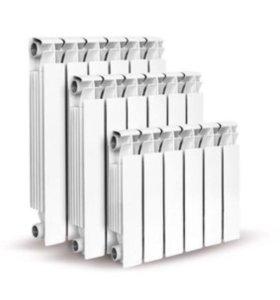 Радиаторы, трубы полипропилен, металлопласт, котлы