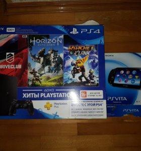 Playstation 4 + Ps Vita