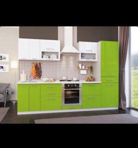 Кухня 3м.