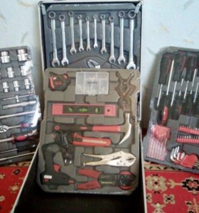 Новый набор инструментов 186 предметов