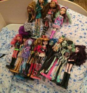 Куклы эверавтер хай и монстр хай