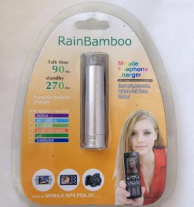 Дорожное зарядное устройство RainBamboo.
