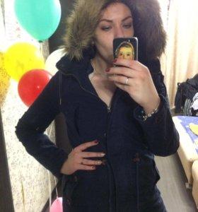 Парка pull&bear куртка