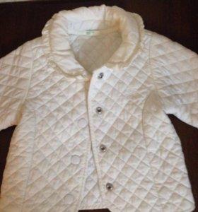 Куртка бенетон + 3 кофточки