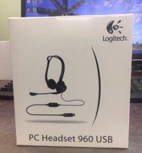 Гарнитура PC Headset 960 USB