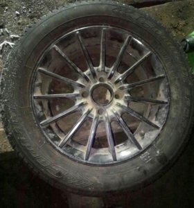 Продам 1шт колёса от ваз 09 185/60R14