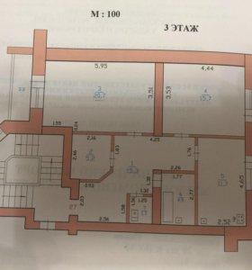 Квартира, 2 комнаты, 75.2 м²