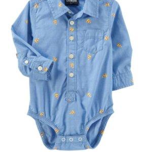 Новая рубашка - боди Carter's