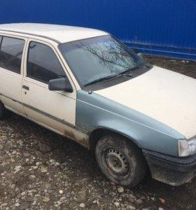 Opel Kadett по запчастям