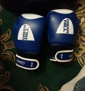 Боксерские перчатки 10унций