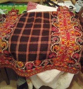 Старинный женский наряд. Калужская область.