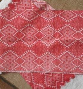 старинные самотканные полотенца