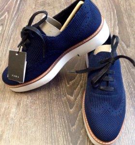 Туфли-броги Zara