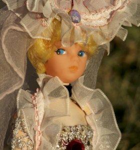 Винтажная коллекционная кукла 60-х гг
