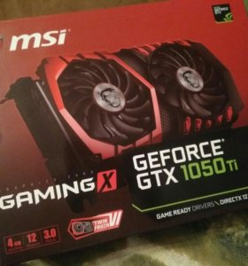 MSI GTX 1050 Ti 4GB Gaming