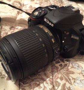 Nikon D3300+18-105 VR KIT