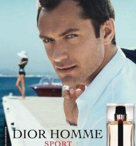 Dior homme sport 125ml(туалетная вода)