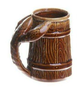 Кружка пивная 0.3л керамика