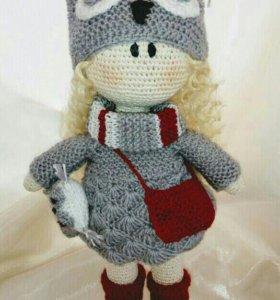 Интерьерная кукла Софа-Совушка
