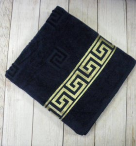 Новое банное махровое полотенце 100/150см