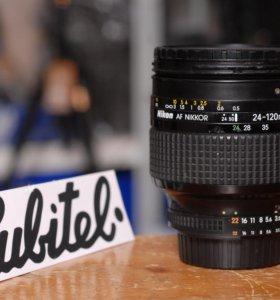 Объектив Nikon 24-120mm 1:3.5-5.6D AF Nikkor