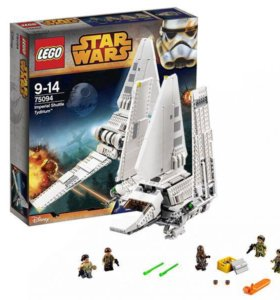Лего звездные войны,имперский шатл Тайдириум 75094