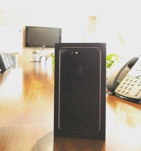 iPhone 7 Plus 128GB Jet Black + Чехол