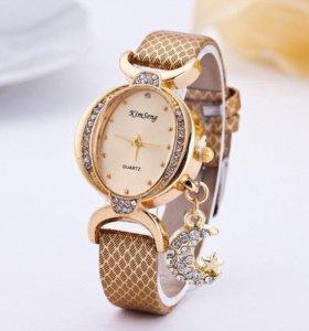 Женские наручные стильные недорогие часы