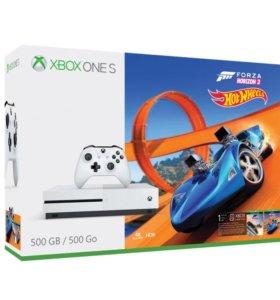 X Box One S + Forza Horizon 3