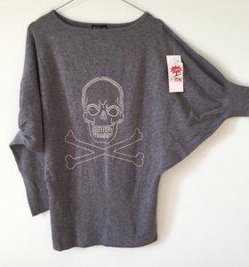 Пуловер новый 44р