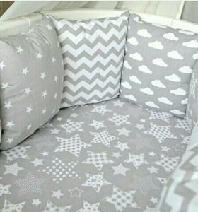 Бортики в кроватку