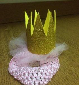 Повязка-корона