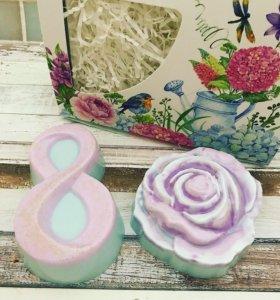 8 марта подарок мыло ручной работы