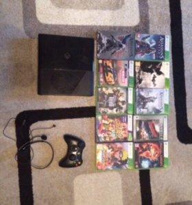 Xbox 360 на 250 g + игры можно купить отдельно