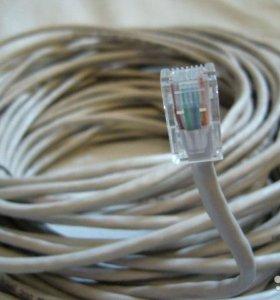 Интернет кабель, патч-корд на заказ, витая пара