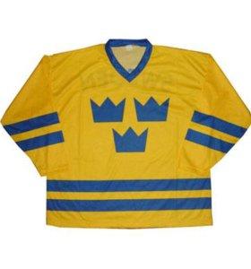 Хоккейный свитер сборной Швеции