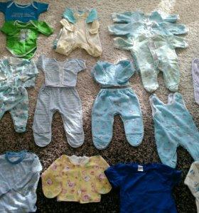 Комбинезоны+ боди+костюмы 56-62-68  на мальчика