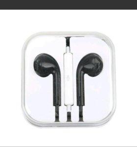 MP3 плеер и наушники с микрофоном