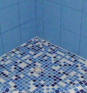 ремонт ванных комнат, бассейн.